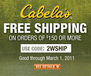 Free Shipping on Orders of $150 or More with Code 2WSHIP