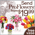 Go to ProFlowers now