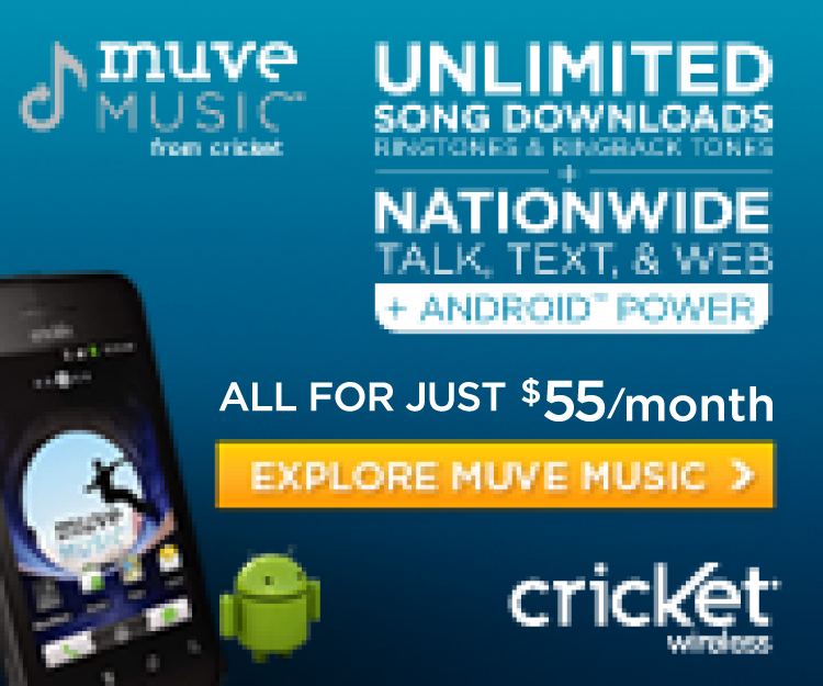 UNLIMITED Song Downloads in your Smartphone Plan All For Just $55 per month!