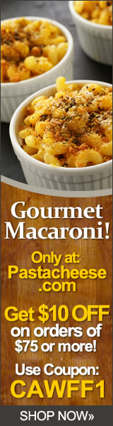 Gourmet Foods At PastaCheese.com